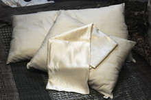 Hemp and Silk Satin Pillowcase
