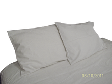 BED SHEETS - Hemp & Organic Cotton - Twin Full Double Queen King - Natural - Hand-Made