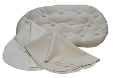 MATTRESS MOSES or BASSINET SET Eco Wool Filled Set Organic Wool Piddle Puddle Pad Hemp Cotton Sheet Natural New Chemical Free USA Free Ship