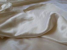 Luxurious Hemp Silk Satin Charmeuse