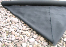 Black Low Impact Dyed 16.5 Ounce 100% Hemp Canvas By The Yard