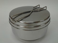 Stainless Steel Cake/Loaf Pan w/lid for Thermal Cooker 1.3 L