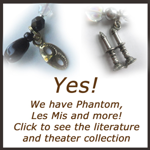Phantom of the Opera Jewelry | Les Mis Gift | Wizard Of Oz Charm Bracelet
