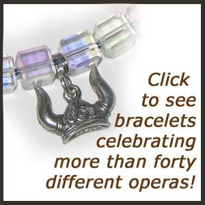 Handmade jewelry for Opera fans