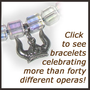 Handmade jewelry for Opera fans