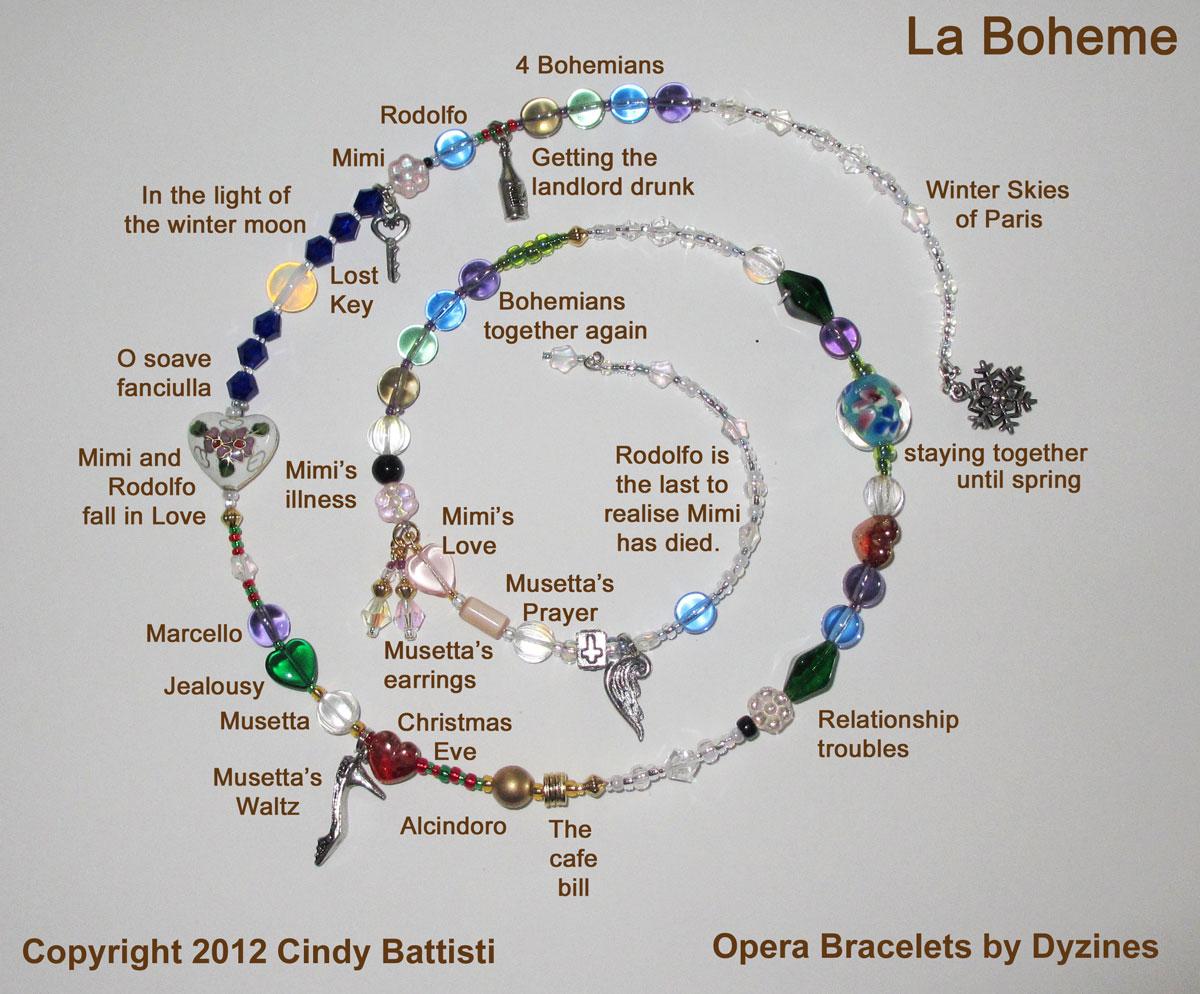 La Boheme Opera Bracelet