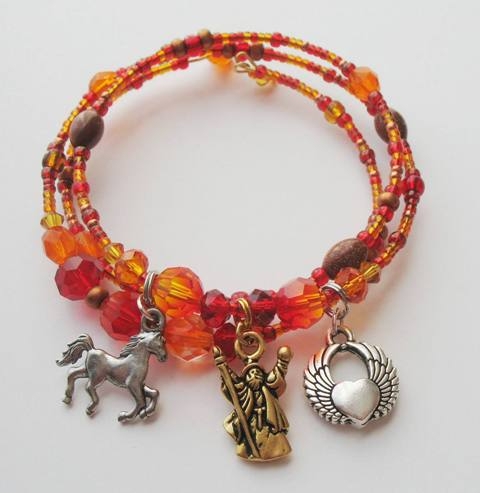 Magic Fire Music Bracelet
