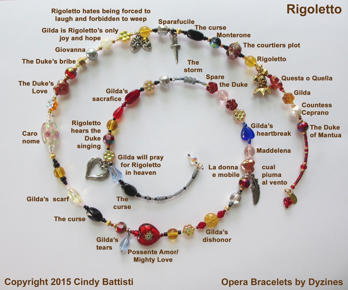 The Rigoletto Opera Bracelet