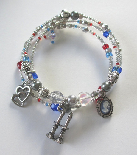 The Valjean's Transformation Bracelet is inspired by the main character of Victor Hugo's Les Miserables.