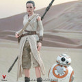 Hot Toys MMS337 Star Wars The Force Awakens Rey & BB-8 Set