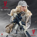 "VERYCOOL VCF-2030 Digital Camouflage Female Soldier ""Max"""