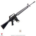 4D Model M16A1 Assault Rifle