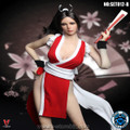 SUPER DUCK SET 012-B Red Female Fighter Clothing Set