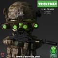 FigureBase Trickyman TM002 SEAL Team 6 Gunner
