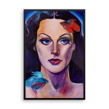Mermaid - Framed poster