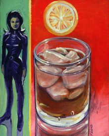 Whiskey on the Rocks with L'Emma Peel - Poster