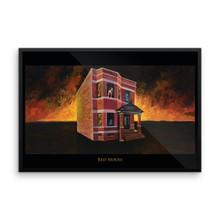 Red House - Framed poster