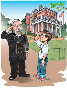 President Benjamin Harrison - Poster