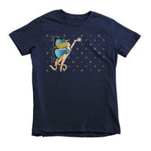 The Blue Faerie - Short sleeve kids t-shirt