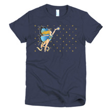 The Blue Faerie - Short sleeve women's t-shirt