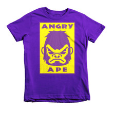 The Angry Ape - Short sleeve kids t-shirt