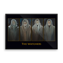The Watchers - Framed poster