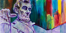 Abraham Lincoln - Original Painting