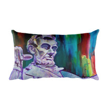 Abraham Lincoln - Rectangular Pillow