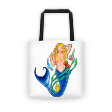 Mermaid Series: Golden Mermaid - Tote bag