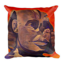The Silent Sphinx - Square Pillow