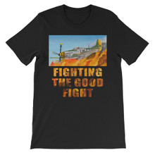 Baby Duck at D-Day: Fighting the Good Fight - Unisex short sleeve t-shirt