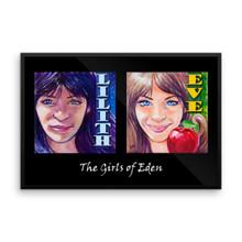 The Girls of Eden - Framed poster