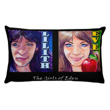 The Girls of Eden - Rectangular Pillow