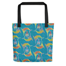 Marlins & Squids Tote bag