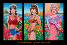 Dream Girls of the Islands - Poster