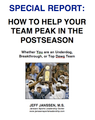 How to Prepare Your Team to Peak in the Postseason Special Report