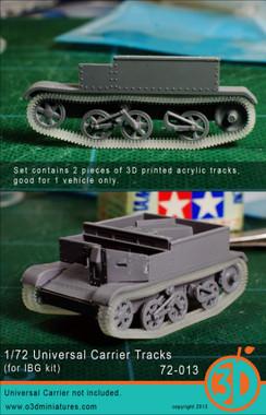 Orange 3D Universal Carrier Tracks (for IBG kit) Accessories 1:72