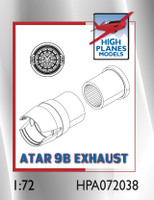 High Planes Dassault Mirage IIIB/C Atar 9B exhaust pipe