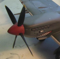 Red Roo Models Spitfire VIII/IX/XVI Exhaust Accessories 1:48