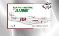"High Planes P-51D Mustang ""Jeannie"" Racer Kit 1:72 (HPR072028)"