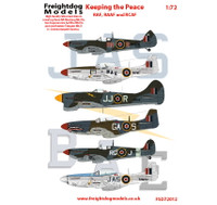 Freightdog Keeping the Peace Pt.1 RAF, RAAF, RCAF Decals 1:72
