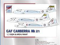 High Planes GAF Canberra Mk 21