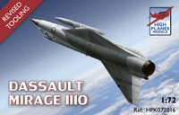 High Planes Dassault Mirage IIIIO HPK072016 revised