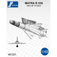 PJ Productions MATRA R 530 with LM 14 pylon Accessories 1:48 (PJP481221)