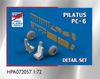 High Planes Pilatus PC-6 Turbo Porter Detail Set Accessories 1:72