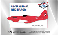 High Planes Racer Mustang RB-51 Red Baron