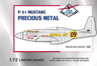 High Planes Mustang Racer Precious Metal