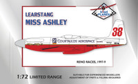 High Planes Learstang Racer Miss Ashley II Kit 1:72