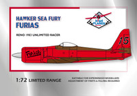 High Planes Hawker Sea Fury Furias Reno Racer