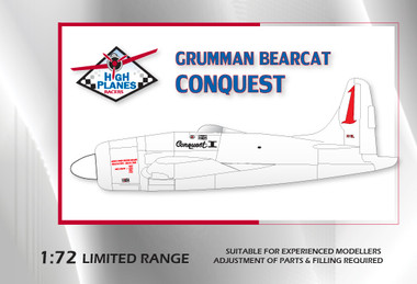 """High Planes Grumman Bearcat Racer """"Conquest 1"""""""
